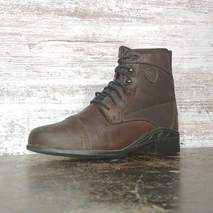 Kids Youth Ariat Paddock Heritage Pull On Boots